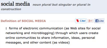 social media strategy example – SEO, Social Media and Video